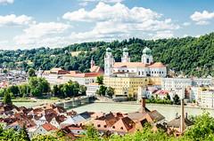 Passau (drasphotography) Tags: passau bavaria bayern postcardshot drasphotography river sky church cathedral kirche travel travelphotography reisefotografie beautiful nikon d7k city cityscape