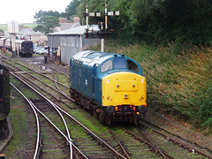37142 Bodmin General (2) (Marky7890) Tags: 37142 class37 heritage diesellocomotive bodminwenfordrailway bodmin bodmingeneral cornwall train