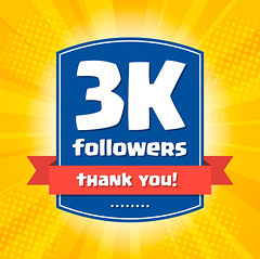 3000 followers Thank you (Max McMahon) Tags: thank design follower you web illustration media community social card like network number friend thousand follow post banner channel celebration public text people publisher graphic followersinflickr