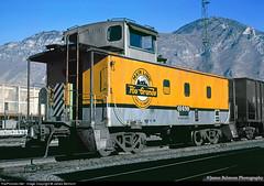 Pickup at Provo (jamesbelmont) Tags: railroad railway train riogrande drgw caboose provo utah waycar