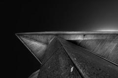 geysir museum andernach (Tom Putzke) Tags: architektur bearbeitung monochrom monochrome andernach rhein geysir museum hdr geometrisch linien flächen fassade fassaden oberfläche symetrie