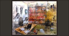 ARXIVER-ARXIU-SEU-MANRESA-ART-ARTE-ARCHIVO-PINTURA-INTERIOR-ARCHIVERO-ARXIUS-ARXIVERS-INTERIORES-PINTURES-ARTISTA-PINTOR-ERNEST DESCALS (Ernest Descals) Tags: arxiu arxius archivos archive arxiver archivo libros books documents historics documentos historicos ciudad ciutat arxivers archivero archiveros estudiar estudios cosultes interior consultas consultar interiors interiores personaje personajes atmosfera seu manresa basilica catedral barcelona catalunya cataluña catalonia paint personatges pictures pintar pintant pintando laseudemanresa pintures pinturas cuadro cuadros obras ancient antiguos documentacion quadres coleccion col·lecció art arte artwork escenas pintores pintors pintor painter painters paintings painting landscape paisatges personas people plastica artistas plasticos artistes artist ernestdescals