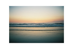 (Julie Stutzman) Tags: beach oregon oregoncoast ocean water sand sky color film analog contaxt3 fujifilm usa
