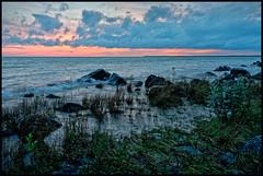 Michigan 03929 (GlasseyeA) Tags: a99ii blue corel greatlakes hdr hogisland lake lakemichigan michigan sigma3514art sigmaart sonyalpha sunset