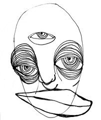 mood. (shanta.devi) Tags: spirit thirdeye face doodle blackgirlmagic blackart blackartist artisfreedom artastherapy drawninpublic whatshantamade artbyshantadevi penandpaper journal artjournaling sketchbook sketch drawing artjournal art
