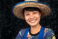 Street portrait, unknown woman in Bangkok (jonasfj) Tags: