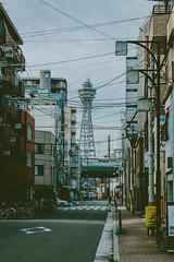 Early Morning (little_stephy0925) Tags: fuji fujifilm fujifilmxh1 fujixh1 xh1 fujinonxf1655mm xf1655mm xf1655 mirrorlesscamera classicchrome streetphoto streetphotography cityscape japan kansai osaka journeytoosaka explorejapan beautifuljapan hitachitower naniwaku tsutenkaku hitachi tower touristattractions morning