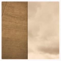 Mostly sky