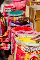 Gulal For Sale For Holi (AdamCohn) Tags: adam cohn uttar pradesh india mathura vrindavan holi wwwadamcohncom adamcohn uttarpradesh isapurbanger