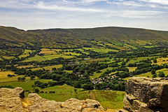 Green valley (Wildlife & Nature Photography) Tags: peakdistrict peakdistrictnationalpark nationalpark england derbyshire valley green lush outdoors hills rocks landscape nature trees summer hiking canon canoneos600d landscapephotography travel unitedkingdom edalevalley