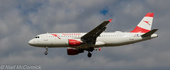 OE-LBW Austrian Airlines Airbus A320-214 (Niall McCormick) Tags: lhr heathrow airport london egll aviation oelbw austrian airlines airbus a320214 27l myrtleavenue