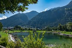 Badesee in Schlitters im Zillertal in Österreich (Peter Goll thx for +8.000.000 views) Tags: 2018 uraub schlitters tirol zillertal österreich at badesee lake pond alpen alps mountain berge
