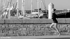 Run, run ... (patrick_milan) Tags: girl woman running beauty pretty sport port harbour brest