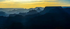 _D804002-Pano.jpg (David Hamments) Tags: silhouettephotography fantasticnature layers arizona silhouette sunset grandcanyonnationalpark buttes ngc