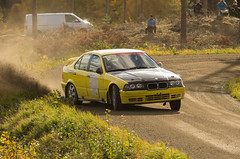 BMW (PetuPictures) Tags: rally rallye rallying rallycar car cars motor motorsport sport sports road racing rallysport auto gravel action europe finland drift sigma autumn pentax visitfinland bmw bayern german