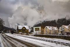 Wernigerode Train now departed (Nigel Valentine) Tags: wernigerdoe hasserode harz germany meter gauge snow