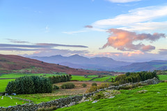 Along the Crake Valley to Coniston Old Man and the Furness Fells (timnutt) Tags: xt2 landscape sky hill lakedistrict trees fuji cumbria mountains rural 35mm fujifilm 35f2wr