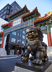 Chinatown Gateway - Portland Oregon (coljacksg) Tags: chinatown gateway portland lioin gate lions