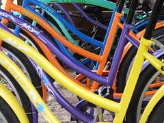Rain B...ike (Faapuroa) Tags: bike bicyclette vélo couleur rainbow color nikon p1000 coolpix