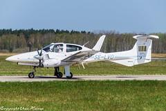 Svensk Pilotutbildning SE-LVO (U. Heinze) Tags: aircraft airlines airways airplane haj hannoverlangenhagenairporthaj eddv nikon plane planespotting