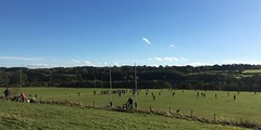rugby (mistdog) Tags: barnardcastle teesdale demesne rugby pitch players game spectators field sky woods photoscapex