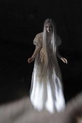 ghost queen (dolls of milena) Tags: bjd abjd resin doll dollshe amanda ghost white abandoned portrait dark