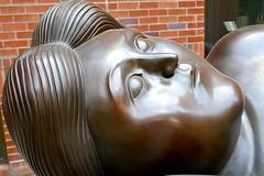 Reclining woman, detail (ali eminov) Tags: eugene oregon universities universityoforegon museums sculptors fernandobotero sculptures recliningwoman schnitzermuseumofart