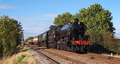 Autumn Gala (Nigel B2010) Tags: steam lner gcr sr 1264 b1 460 462 34092 railway tracks quorn station