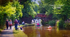Poacher's Pocket - Chirk (Mike Cordey) Tags: chirk poacherspocket canal canoe barge tamron