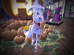 Witch way to the Arcade~ LOTD #5 (KintaFoxdale) Tags: firestormsecondlife arcade creepy maitreya bloody kitsune fox hooman wtf pretty sexy cool threetails white schandenfreude mushroomhat witch october 2018 pumbkins blood blueberry utilizator venus evermore avaricious nomi meow heart collar mina bonbon jiangshi tsg thesugargarden bentonails stilettoshape mykonos