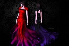 (IMAGE) -AZUL- Gizela (mami_jewell) Tags: azul gizela dress formal hautecouture gown evening flexi mesh fitmesh jacket skirt sl secondlife virtual game avatar fashion