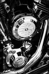 Harley D (G. Postlethwaite esq.) Tags: bw dof derbyshire harleydavidson heage sonya7mkii vtwin beyondbokeh blackandwhite bokeh chrome classicbikes depthoffield exhaustpipe fullframe mirrorless monochrome motorbikes photoborder selectivefocus windmill