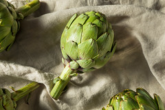 Raw Organic Green Artichokes (brent.hofacker) Tags: agriculture artichoke artichokes background cooking delicious diet eating edible exotic flower food fresh freshness globe gourmet green group harvest health healthy ingredient italian leaves lifestyle market natural nature nutrition object organic plant produce purple raw ripe stem uncooked vegetable vegetarian