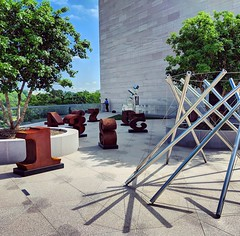 rooftop shadows (ekelly80) Tags: dc washingtondc september2018 nationalgalleryofart roof rooftop art shadows numbers sunny sun bright
