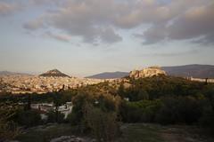 Acropolis and Modern Athens (KRLKiev) Tags: greece travel athens