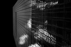 Sky Reflecting in Glass (CoreyBourassaPhoto) Tags: finepix fuji fujifilm pennsylvania philadelphia summer x100f architecture family reflection travel