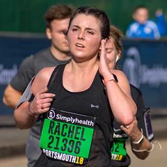 Runner, Great South Run 2018, Portsmouth, Hampshire, UK (rmk2112rmk) Tags: greatsouthrun runner greatsouthrun2018 portsmouth dof