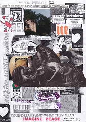 It doesn't get any better (dou_ble_you) Tags: mailart morenomenarin isaoyoshii doubleyou anatomiadellamore collageonprintedpaper a4size