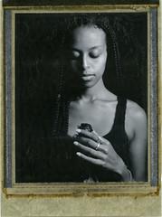 R. (denzzz) Tags: portrait polaroid polaroidweek roidweek polaroid55 expired blackwhite blackandwhite skancheli instantfilm analogphotography filmphotography wista45dx 4x5 large format walimex daylight1260