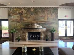 Earl LaPan Mural Essex Hotel Lobby (Phillip Pessar) Tags: earl lapan mural essex hotel lobby art deco