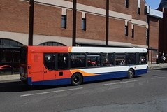 SY 22547 @ New Beetwell Street/coach station, Chesterfield (ianjpoole) Tags: stagecoach yorkshire man 18240lf alexander dennis enviro 300 yn57mxp 22547 working route 77 new beetwell street chesterfield worksop bus station