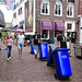 Parade of Garbage Containers