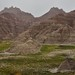 The Badlands from a Roadside Pulloff (Badlands National Park)