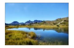 Lac des Sarailles (Charlottess) Tags: nikon5300 septembre lac hautesalpes