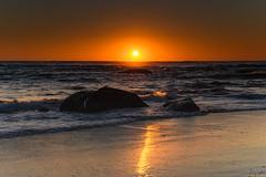 Clear Skies Sun Rising Seascape (Merrillie) Tags: daybreak sunrise orange seashore nature dawn australia surf centralcoast morning weather newsouthwales waves noraville nsw sea beach ocean sky landscape earlymorning coastal waterscape outdoors seascape hargravesbeach coast water seaside