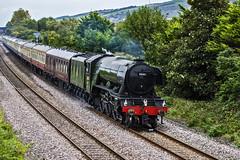 Flying Scotsman (tomdavies19) Tags: rhyl train steam engine track wales north nikon nikond7200 d7200 tamron telephoto