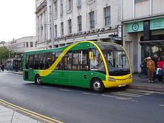 CT4N YJ65ERO Nottingham (Guy Arab UF) Tags: ct4n yj65ero optare solo m920 bus beastmarket hill nottingham eighteen buses webberbus