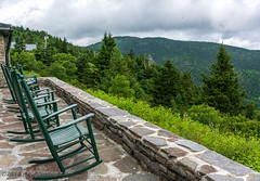Lodge Rocking Chairs @ Mt. Mitchell State Park - Burnsville, NC (Paul Diming) Tags: pauldiming 2018asheville stateparks landscape burnsvillenorthcarolina burnsville northcarolina rockingchair northcarolinastateparks parks park apalachianmountains chair yanceycounty blackmountains drelishamitchell restaurant dailyphoto summer chairs blackmountainsrange scenic mountmitchellstateparkrestaurant mountmitchellstatepark d7000 yanceycountynorthcarolina statepark mountain unitedstates us