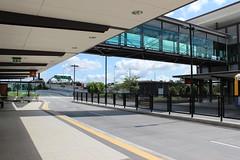 Kedron Brook Bus Station, Brisbane (philip.mallis) Tags: lutwyche brisbane busstop busway busrapidtransit brt businterchange