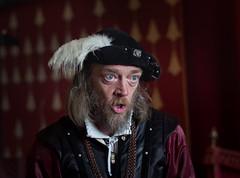 Portrait (VKUSH) Tags: medievalcostume man actor people performance stirlingcastle